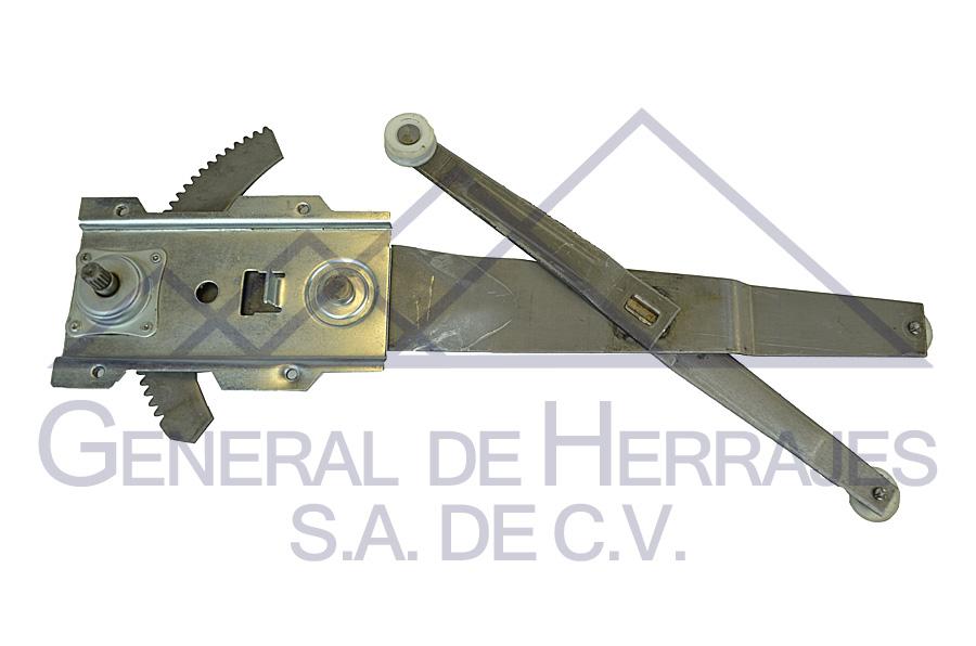 Elevadores de cristal Nissan 04-0758-00