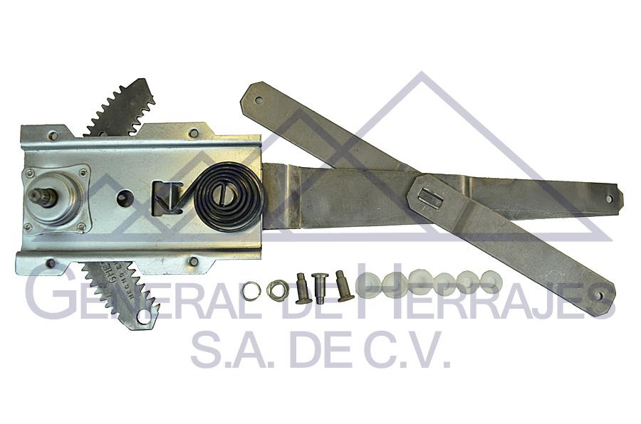Elevadores de cristal Nissan 04-0760-00